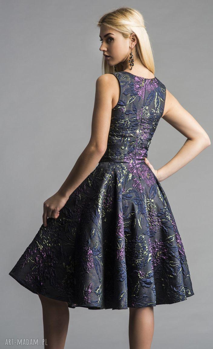 sukienki sylwestrowa sukienka gina (koło) midi tiara