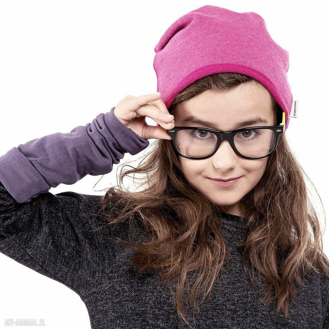 niepowtarzalne ubranka dzianina wygodna i praktyczna czapka