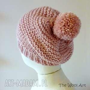 ciepła czapka - czapka, czapkanadrutach, nadrutach, wełniana, ciepła