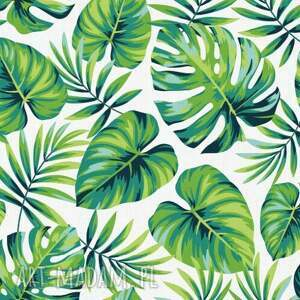 OTULACZ BAMBUSOWY Jungle 75x100, bambus, bambusowy, otulacz, kocyk, niemowlak, letni