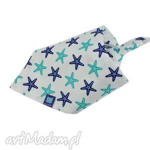 little sophie chustka bawełniana, wzór rozgwiazdy, rozgwiazda