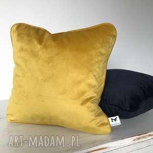 handmade poduszki poduszka velvet honey