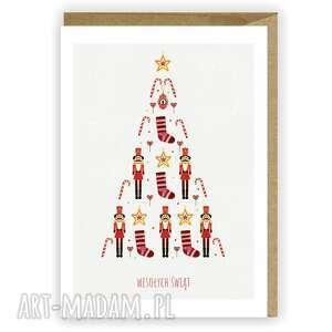 kartki kartka bożonarodzeniowa świąteczna - cardie, świąteczna, boże