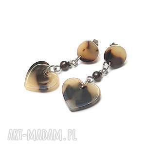 alloys collection /animal - heart/vol. Kolczyki