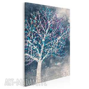 vaku dsgn obraz na płótnie - drzewo liście w pionie 50x70 cm 30607