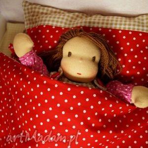 lalki dwustronna pościel dla lalek, pościel, pokoik, lalka, waldorfska, szmaciana