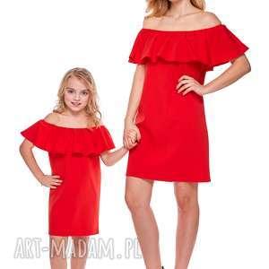 Mama i córka Sukienka hiszpanka dla córki LD9/2, falbana, sukienka, mama,