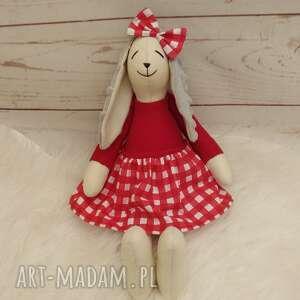ręcznie zrobione maskotki króliczek tilda przytulanka