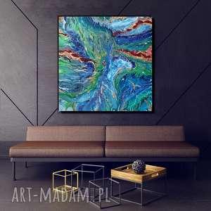 art is hard gallery - rafa abstrakcyjny obraz ręcznie malowany na płótnie