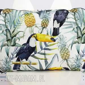 Płaska Poduszka do łóżeczka Tukany, poduszka, płaska, łóżeczko, poście, letni, tukany