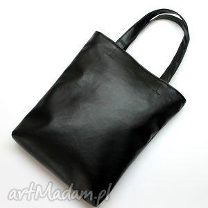 szoperka - czarna, elegancka, nowoczesna, handmade, prezent, święta, zakupy