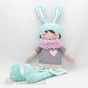 lala przytulanka bibi śpioszka, 46 cm, lala, przytulanka, prezent lalki dla dziecka