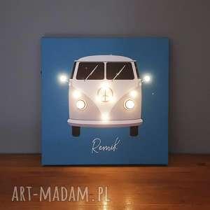 cosniecos świecący camper kamper lampka imię obraz led prezent mikołajki