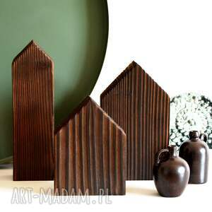 3 domki drewniane, domek drewniany, domki, drewniane, opalane, skandynawski