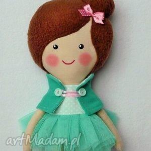 miętowa baletnica, lalka, zabawka, przytulanka, prezent, niespodzianka, dziecko dla