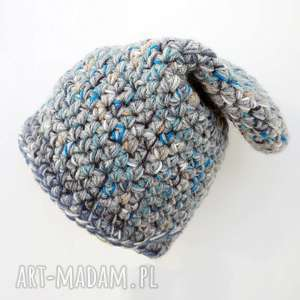 ręczne wykonanie czapka hand made. 023 / dziecięca krasnal