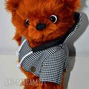 hand made, miś igor, szyty ręcznie, unikalny, zabawka, przytul misie - miś