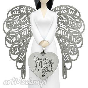 Prezent Figurka ANIOŁ miłości you are an angel 15,5 cm, miłość, ślub,
