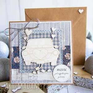 kartki piękna kartka w dniu ślubu / koperta, ślubna, na ślub