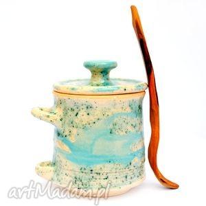 ceramika miodźcu i - ceramiczny pojemnik, uzytkowe, unikatowe, ceramika, pojemnik