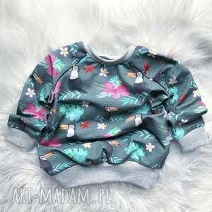 hand-made bluza dresowa tukan