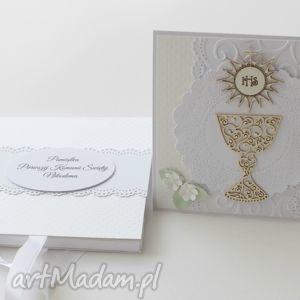 Prezent Kartka na Komunię Świętą (w pudełku), komunia, kartka, prezent, pamiątka