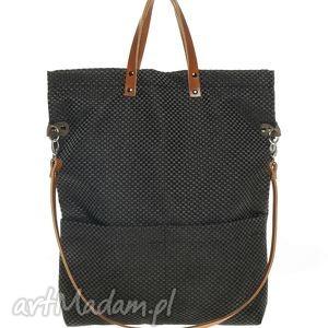 cube mana black caramel, torba, torebka, prezent, handmade