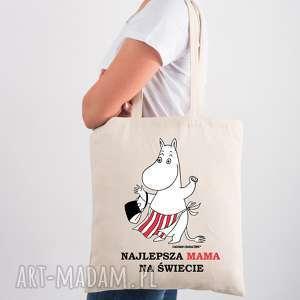 na ramię licencjonowana torba muminki dla mamy najlepsza mama świecie