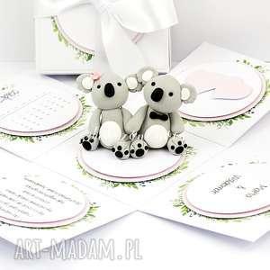 Prezent Exploding box ślub, życzenia, prezent, modelina, misie, miłość