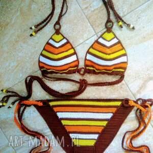 bielizna strój kąpielowy morocco, crochet bikini, bikini szydelkowe, swimwear