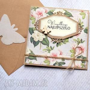 handmade kartki wszystkiego najlepszego:: rustic