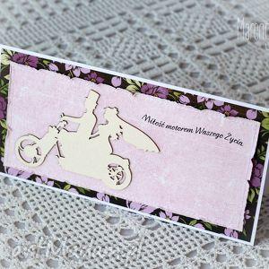 hand-made scrapbooking kartki miłość motorem waszego życia