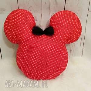 Poducha/ przytulanka w kształcie głowy myszki Miki, poduszka, myszka, antyalergiczna