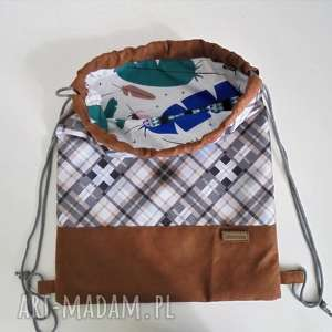 prezent na święta, plecak-worek, plecak, pleca sznurkach, plecak worek