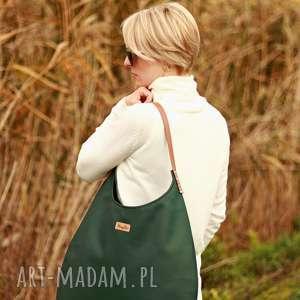 torba worek zielen z miodem, torba, worek, na ramie, kobieta