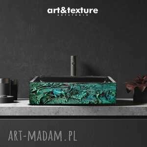 dom esmeralda - nablatowa umywalka artystyczna ręcznie wykończona