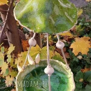 wylegarnia pomyslow szmaragdowy karmnik dla ptaków, ceramika, karmnik, ptaki