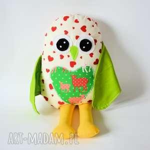 Ptaszek Dziubdziub 4, ptak, maskotka, sowa, dziubdziub, owieczka, serce
