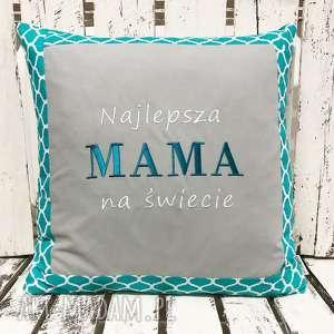 poduszka prezent najlepsza mama na świecie od majunto, dzień mamy, matki