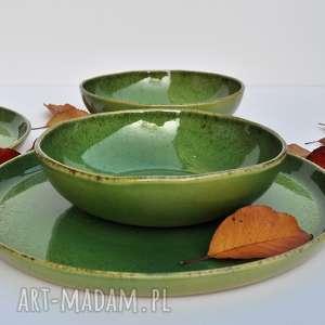 hand-made ceramika zestaw z winoroślą dla dwojga