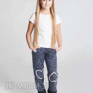 ubranka spodnie dsp10n, wygodne, spodnie, stylowe, serduszka