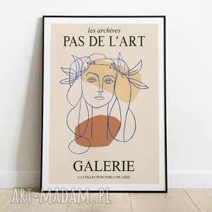Pas De LArt! ►Pablo Picasso, inspiracja, plakat wystawowy