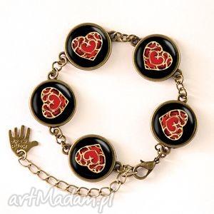 serca - bransoletka - biżuteria walentynki, zelda