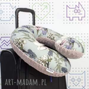 poduszka podróżna irys, podróżna, rogal, zagłówek, akcesoria