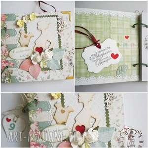 handmade scrapbooking notesy pamiętnik ciążowy/ w oczekiwaniu na cud