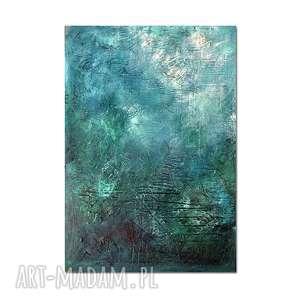 Nebula U4, abstrakcja, nowoczesny obraz ręcznie malowany, obraz, ręcznie, malowany