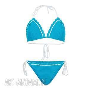 Kostium kąpielowy Casablanca szydełkowy, kostium, strój, bikini, plażowy,