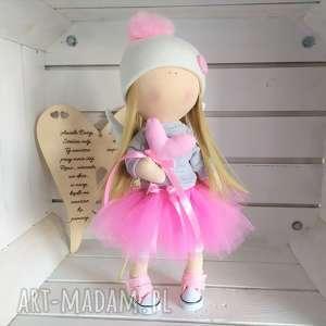 lalki lalka szmacianka na prezent kolekcjonerska, anioł lalka