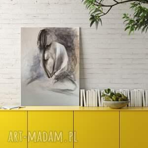 wyjątkowy prezent, woman 39x57, obraz do salonu, zmysłowy obraz, szkice kobiet