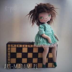 nastka - lalka kolekcjonerska figurka tekstylna ręcznie szyta i malowana